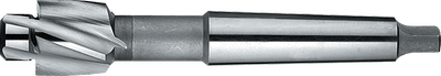 180° Counterbore with Morse Taper shank